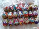 PISANKI jaja ręcznie wykonane z filcu * pisanka 12 - 3