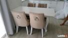 Krzesło pikowane z pinezkami i kołatką producent glamour - 1