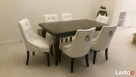 Modne krzesło pikowane z kołatką i pinezkami producent - 6