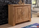Elegancka dębowa komoda Toronto - meble z litego drewna Biskupiec