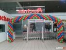 Bramka z balonów na uroczyste otwarcie Łódź