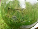 Ceramiczna kula ogrodowa 55 cm. Mrozoodporna. Fontanna - 2