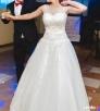 Suknia ślubna princessa 36/38/40 + bolerko nowe