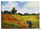 obraz olejny Pole maków Monet kopia 70 x 50 cm Limanowa
