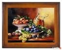 obraz olejny martwa natura 37 x 47 cm Limanowa