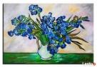 obraz olejny Vincent van Gogh wazon z irysami kopia Limanowa