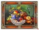 piękny obraz olejny martwa natura 85 x 115 cm Limanowa