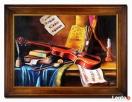 obraz olej martwa natura 64 x 84 cm Limanowa