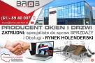 SPECJALISTE do Spraw Sprzedaży i Obsługi -RYNEK HOLENDERSKI Buk