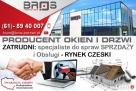 SPECJALISTE do Spraw Sprzedaży i Obsługi -RYNEK CZESKI Buk