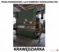 Prasa Krawędziowa HAMMERLE Hydrauliczna CNC - Krawędziarka Katowice