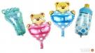 Balony gumowe foliowe cyfry postacie z bajek urodziny dzieck - 4