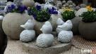 Ptaszek na żołędziu figurka betonowa do ogrodu - 6