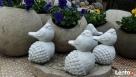 Ptaszek na żołędziu figurka betonowa do ogrodu - 7
