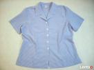 M&S koszula niebiesko biała kratka 48 50