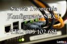 Konfiguracja Naprawa Tworzenie Obsługa Sieci Drukarek Router Wrocław