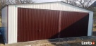 Garaż Blaszany 7x6 KOLOR Dwuspadowy WZMOCNIONY Chybie