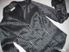 La&B&La elegancka Koszula Błyszczące Paski 34 36 Xs S - 2