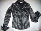 La&B&La elegancka Koszula Błyszczące Paski 34 36 Xs S - 4
