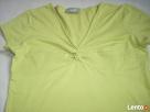 Wallis Limonkowa bluzka Węzeł 40 L - 4