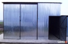 Garaż blaszany Blaszak wiata 5x6 WZMOCNIONY PRODUCENT BLACHM Nowy Tomyśl