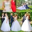 Suknia ślubna 36, koronka, guziki - 4