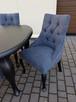 Krzesło noga LUDWIK pikowane kołatka pinezki KRYSZTAŁKI - 7