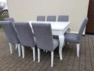 Krzesło noga LUDWIK pikowane kołatka pinezki KRYSZTAŁKI - 6
