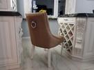 Krzesło noga LUDWIK pikowane kołatka pinezki KRYSZTAŁKI - 1