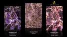 Panel dekoracyjny z ametystów Dark Ametyst do podświetlenia