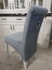 Krzesło noga LUDWIK pikowane kołatka pinezki KRYSZTAŁKI - 5