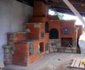 Grill wędzarnia grill ogrodowy grillowedzarnia piec na pizze - 2