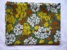 Materiał 307cm x 113cm kupon kwiatki kolorowe lejący - 5