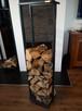 Stojak na drewno wysoki - 4