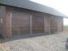 brama garażowa uchylna dwuskrzydłowa
