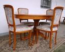 Stół Krzesła Ludwik Filip różne wzory - 5
