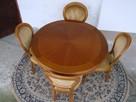 Stół Krzesła Ludwik Filip różne wzory - 7