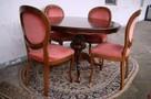 Stół Krzesła Ludwik Filip różne wzory - 6