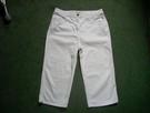 FABIANI Spodnie 4/5 Białe Idealne 40 42