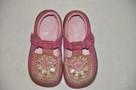 Różowe buciki, trzewiki marki CLARKS rozm. 22 - skóra natura - 3