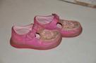 Różowe buciki, trzewiki marki CLARKS rozm. 22 - skóra natura - 2