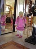Różowe buciki, trzewiki marki CLARKS rozm. 22 - skóra natura - 4