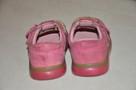 Różowe buciki, trzewiki marki CLARKS rozm. 22 - skóra natura - 7