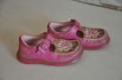 Różowe buciki, trzewiki marki CLARKS rozm. 22 - skóra natura - 6