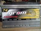 Akumulator GROM 12V 74Ah/740A POZNAŃ - 2