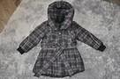 Płaszcz dziewczęcy rozmiar 116 - 3