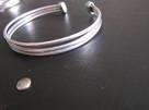 Warmet Srebrne pierścionki KORAL MARKEZYTY kolczyki koła 925 - 7