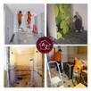 Kompleksowe remonty i wykończenia domów i mieszkań.