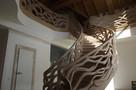 Schody gięte, rzeźbione, balustrady rzeźbione. - 2
