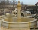 Duże fontanny z piaskowca, kamień naturalny